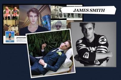 I modelli da seguire su Instagram: james smith