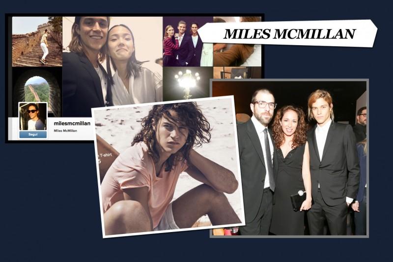 I modelli da seguire su Instagram: miles mcmillan