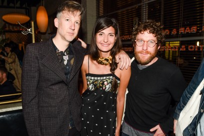 Jefferson Hack, Giovanna Battaglia; Dustin Yellin Evento Gucci NY Cruise 2016 Courtesy of BFA