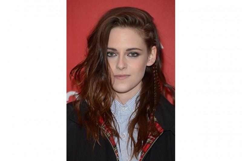 Kristen Stewart capelli: treccine