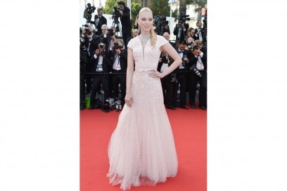 LOOK SPARKLING: tanya dziahileva IN GEORGES HOBEIKA COUTURE