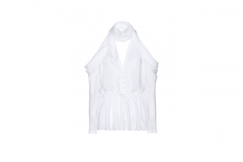 LOOK TOTAL WHITE: TOP GIVENCHY