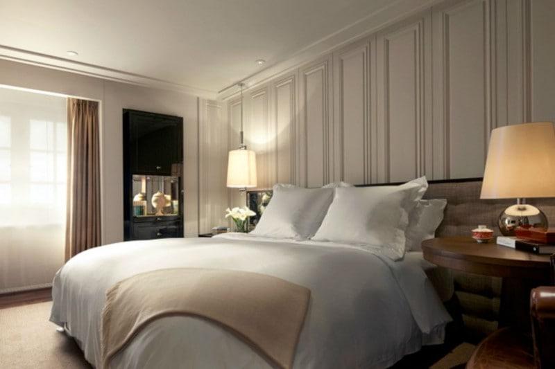La camera dell'albergo