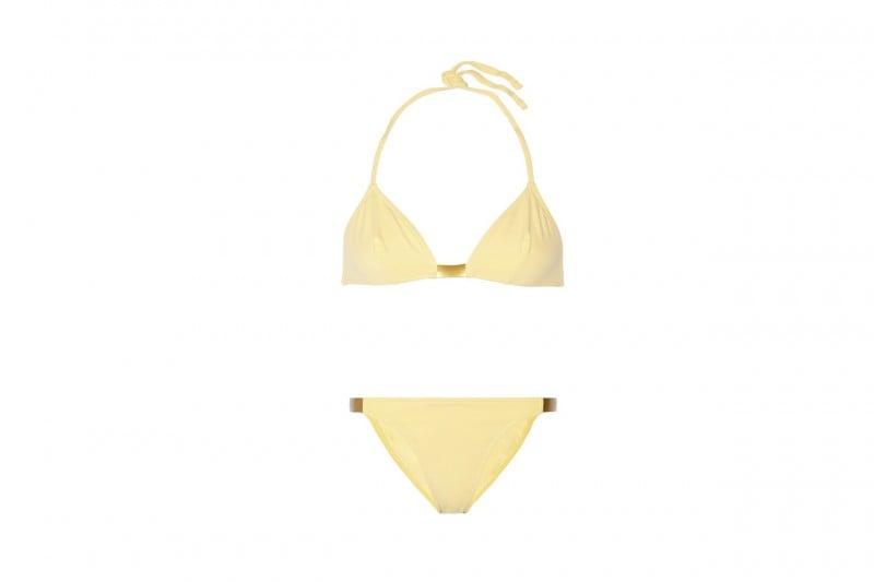 """La tendenza dallo street style: il bikini giallo """"camomilla"""" di eres"""