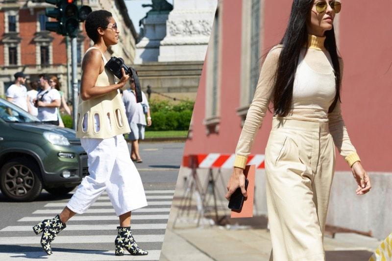 """La tendenza dallo street style: il giallo """"camomilla"""""""