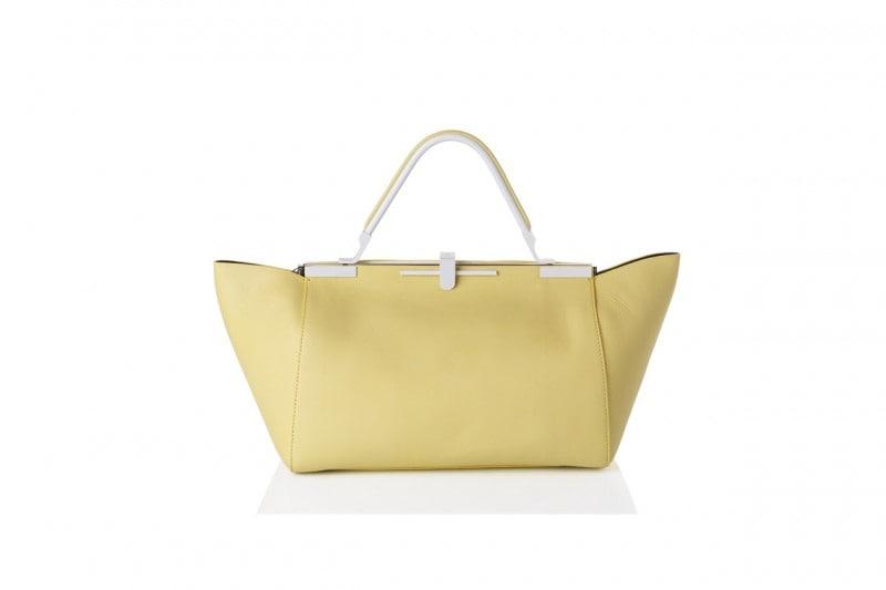 La tendenza dallo street style: la borsa giallo camomilla di Zanchetti