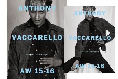 Le campagne per l'Autunno-Inverno 2015: Anthony Vaccarello