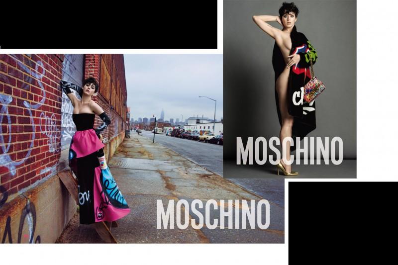 Le campagne per l'Autunno-Inverno 2015: Moschino