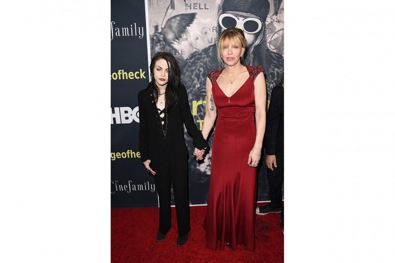 Le figlie delle star e i loro look: Frances Cobain