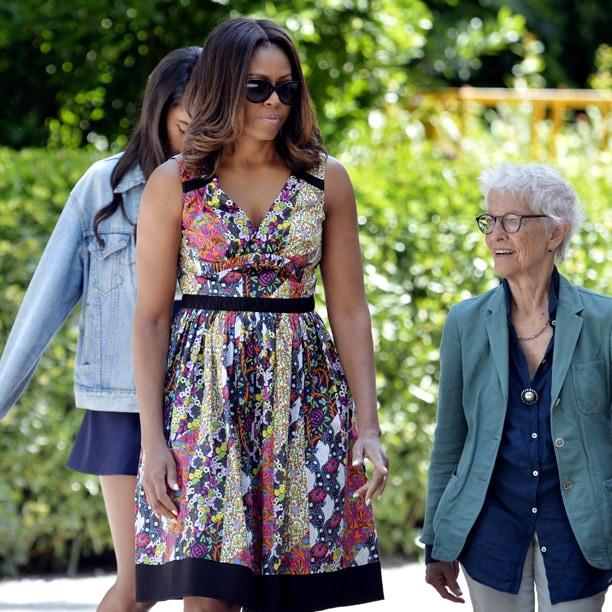 Michelle Obama veste Prada