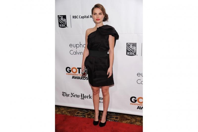 Natalie Portman in Lanvin for H&M