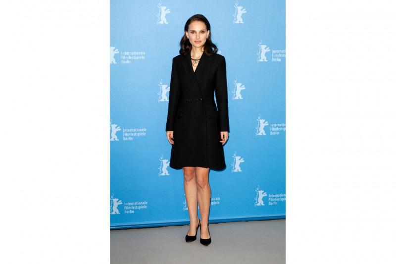 Natalie Portman in tailleur Dior