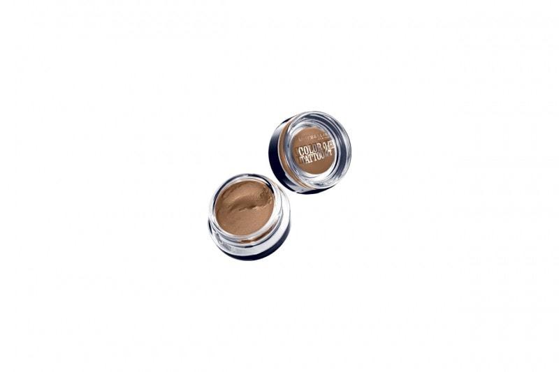 Ombretti occhi azzurri: Maybelline NY Color Tattoo 24 hr On and on Bronze