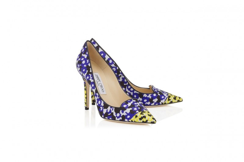 PUMPS A FIORI: JIMMY CHOO