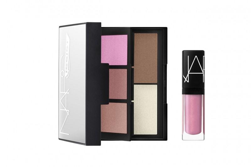 Palette make up: NARS NARSissist Blush Contour and Lip Palette