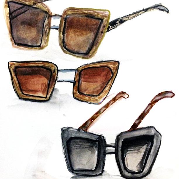 Prada svela il progetto eyewear Prada Raw Avenue