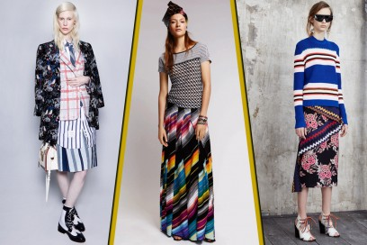 RESORT 2016: Stripes VS Patterns