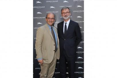 Raffaello Napoleone (Pitti Immagine), Jean Cassegrain (CEO Longchamp)