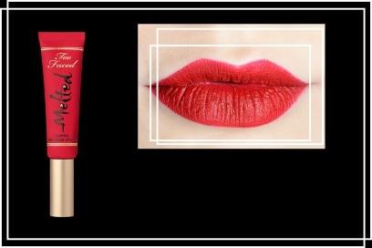 Rossetti rosso fragola: Melted rossetto liquido lunga tenuta in Strawberry di Too Faced