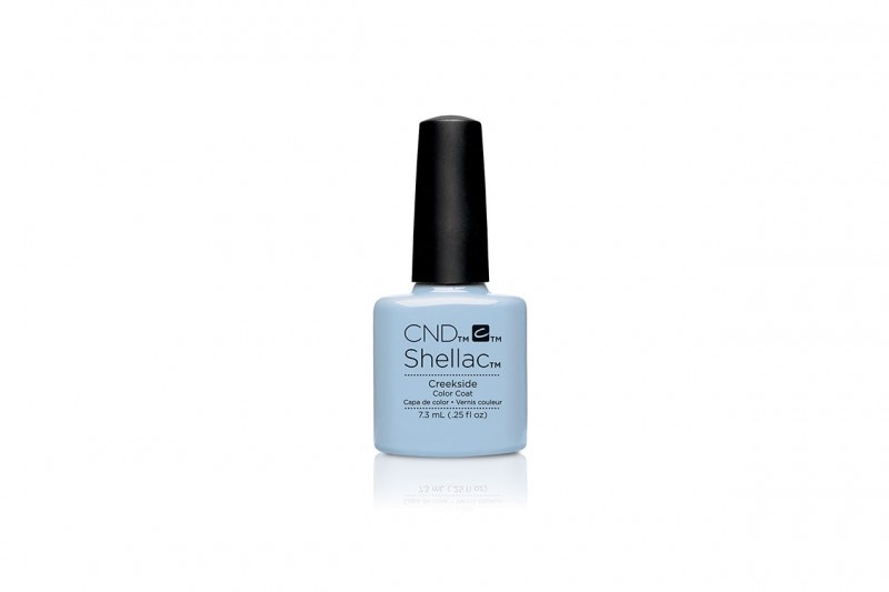 SMALTI PER CARNAGIONE CHIARA: SHELLAC IN CREEKSIDE