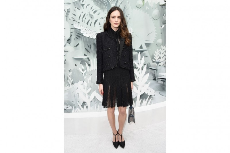 Stacy Martin: in Chanel