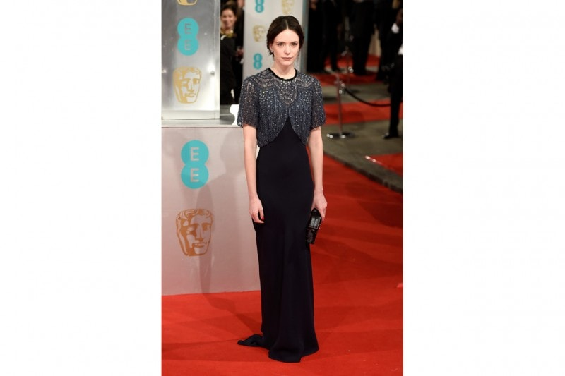 Stacy Martin: in Louis Vuitton