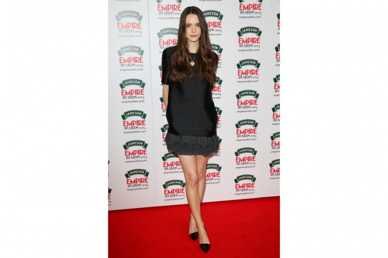 Stacy Martin: in nero chic