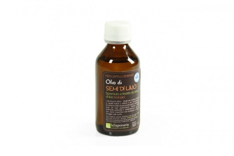 Styling bio dei capelli: La Saponaria Olio di Semi di Lino