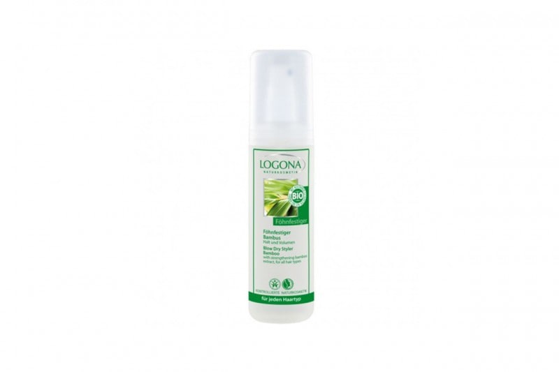 Styling bio dei capelli: Logona Spray Phon Bamboo