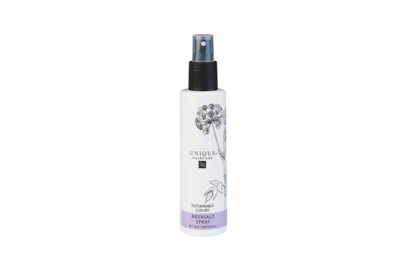 Styling bio dei capelli: Unique Haircare Spray Acqua di Mare
