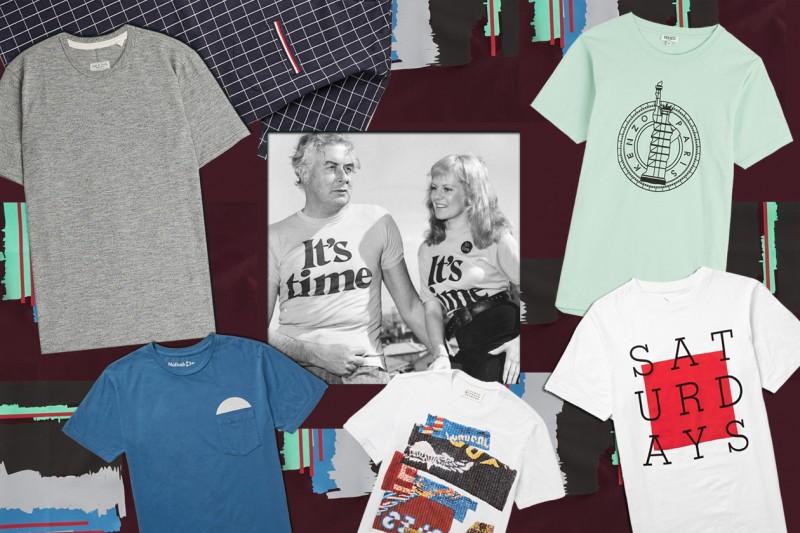 T-shirt unisex: le tendenze per l'estate 2015