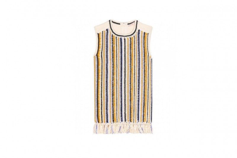 TOP CON LE FRANGE: TORY BURCH