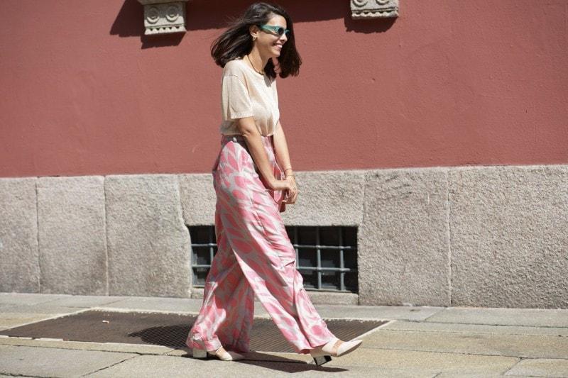 Tendenze capelli dallo street style a Milano: long bob