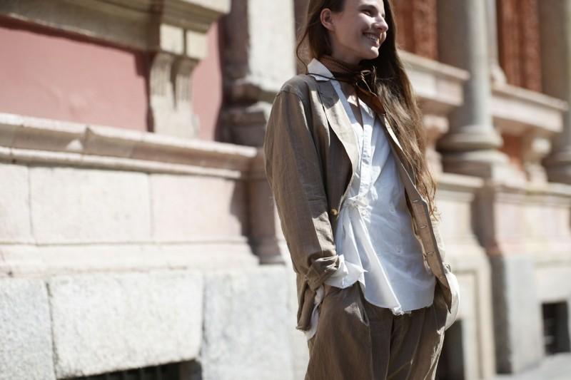 Tendenze capelli dallo street style a Milano: lunghezze laterali
