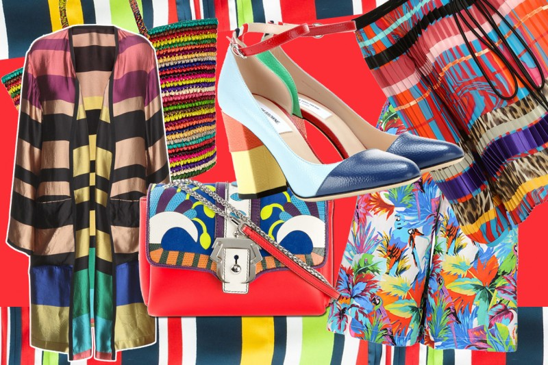 Trend multicolor: i capi e gli accessori cool per l'estate 2015