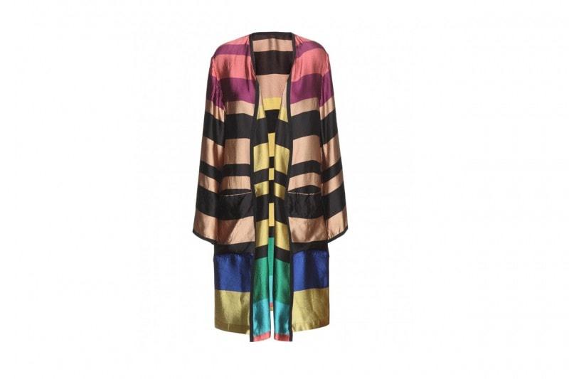 Trend multicolor: kimono DRIES VAN NOTEN