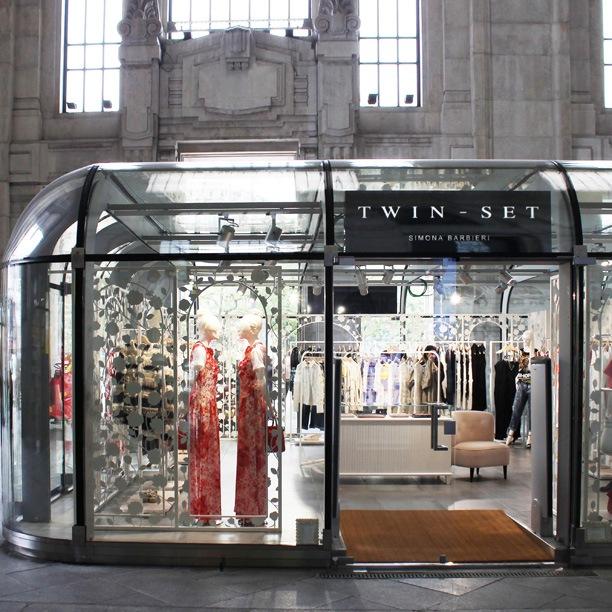 Twin-Set apre un temporary store in Stazione Centrale a Milano