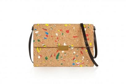 accessori naturali: borsa a tracolla di stella mccartney