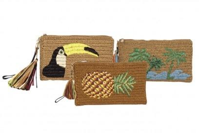 accessori naturali: clutch di annie p