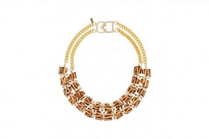 accessori naturali: collana di Kenneth Jay Lane