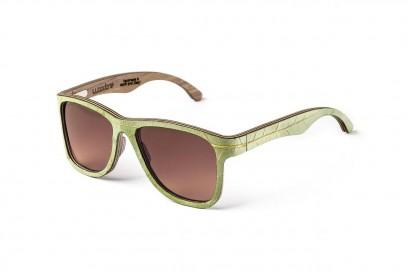 accessori naturali: occhiali di WOODONE per alto adige