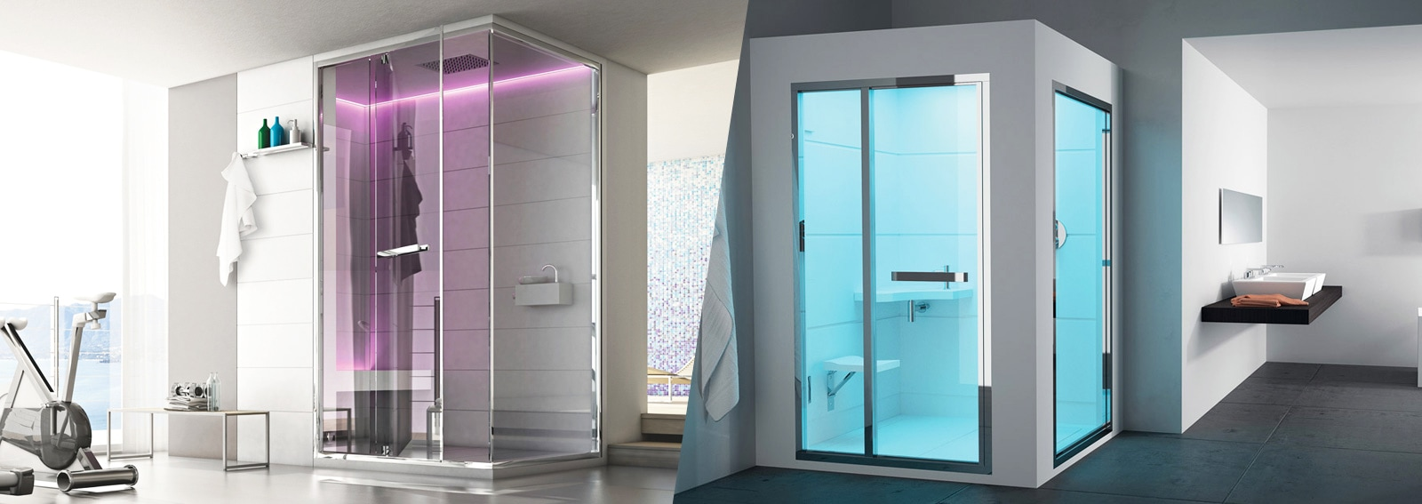 Doccia Moderna Industrial Bathroom Bathroom Industrial With