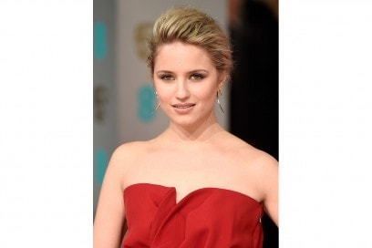 Dianna Agron capelli: acconciatura bee hive