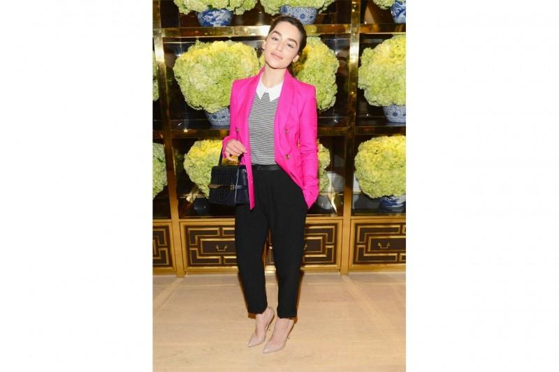 emilia clarke: casual look