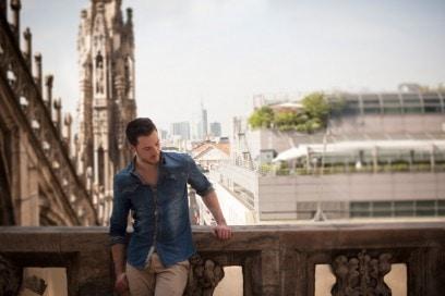 La Milano di Gabrio Gentilini: Terrazze del Duomo