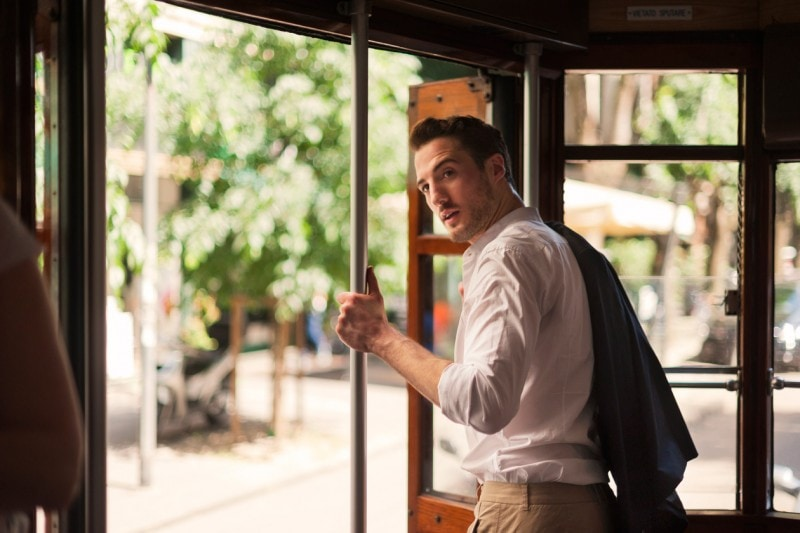La Milano di Gabrio Gentilini: Il tram