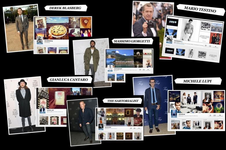 Gli uomini da seguire su Instagram: editor, designer e grandi nomi della moda