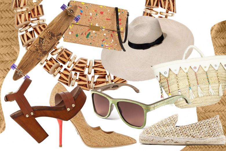 Gli accessori dell'estate 2015 sono naturali
