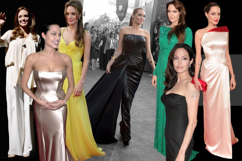 Angelina Jolie: i look dell'attrice
