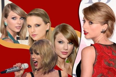 Taylor Swift capelli: le acconciature più belle del 2015